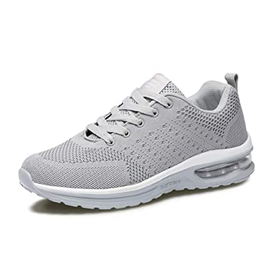 05cc412247f1 Fexkean Mens Womens Sneakers Sports Shoes Trainers Running Athletic Walk  Gym Fashion Mesh Outdoor Shoes(