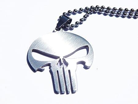 Collar con colgante the Punisher,bazarpro garantiza envío desde Italia.,Busca otros objetos en el nu