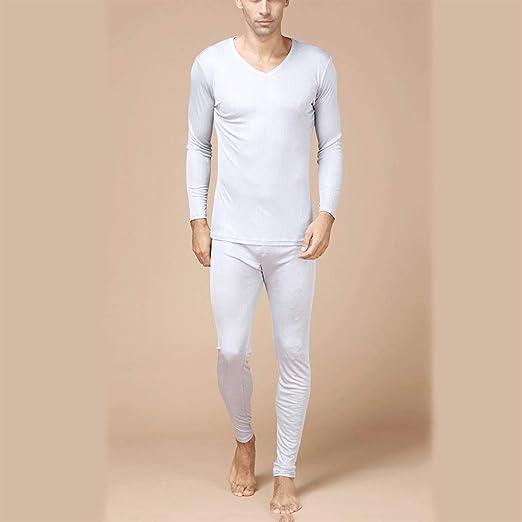 Pure Silk Men/'s Long Johns