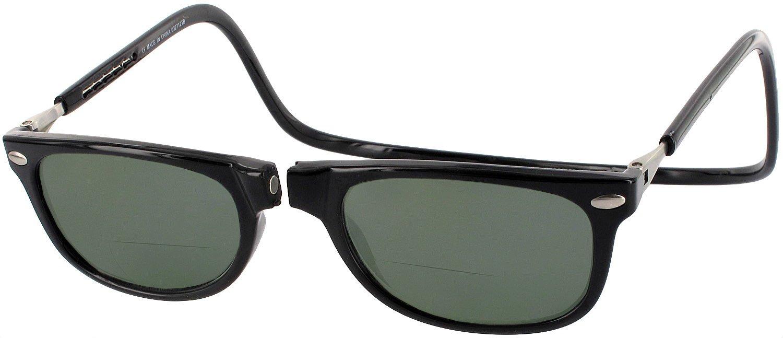 6690c24cd624 Amazon.com  CliC Ashbury Bifocal Sun Reader Designer Reading Glasses ...