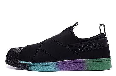 adidas superstar scivolare su uomini scarpe da corsa (usa 10