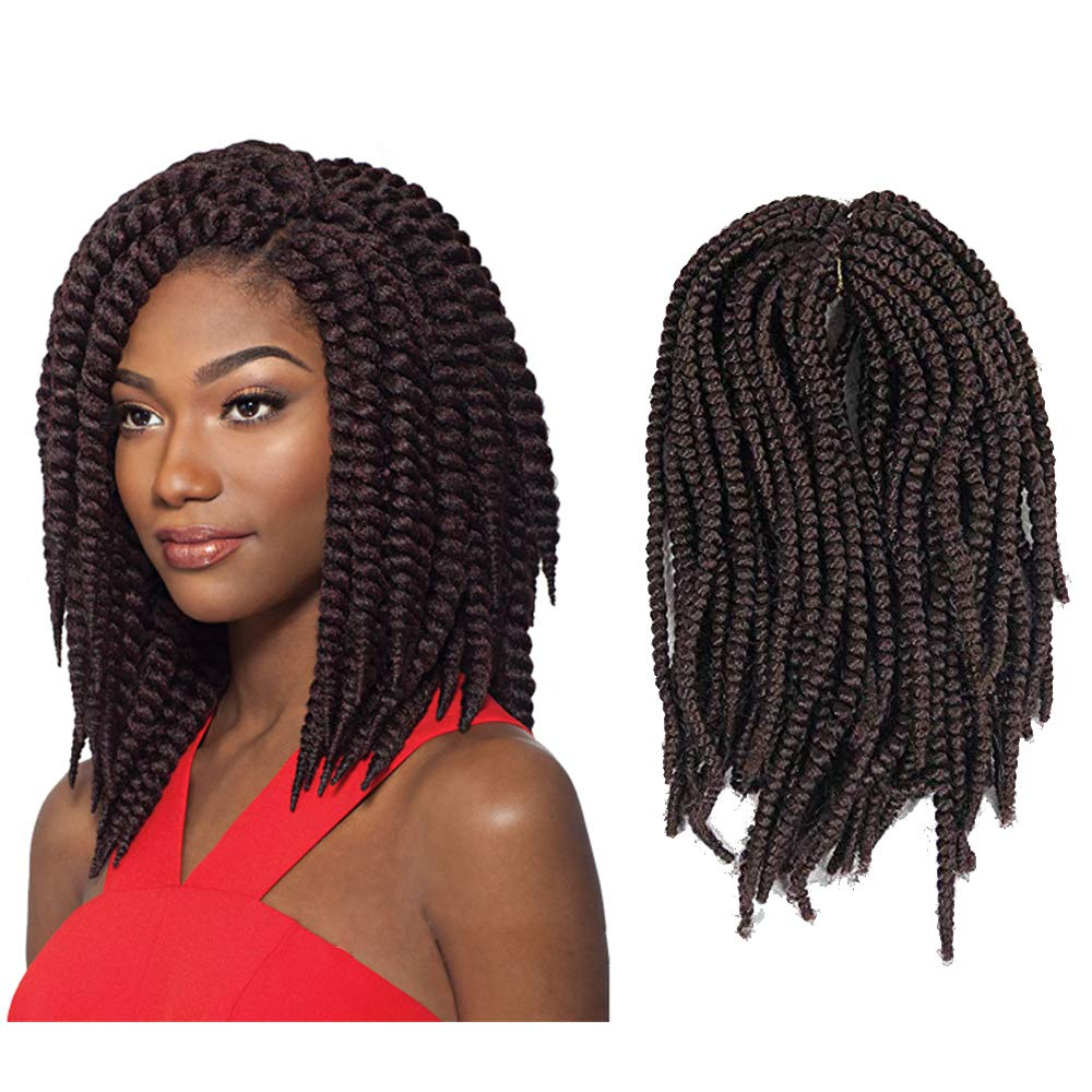 Amazoncom 4 Pack Pre Looped Spring Twist Crochet Nubian Twist