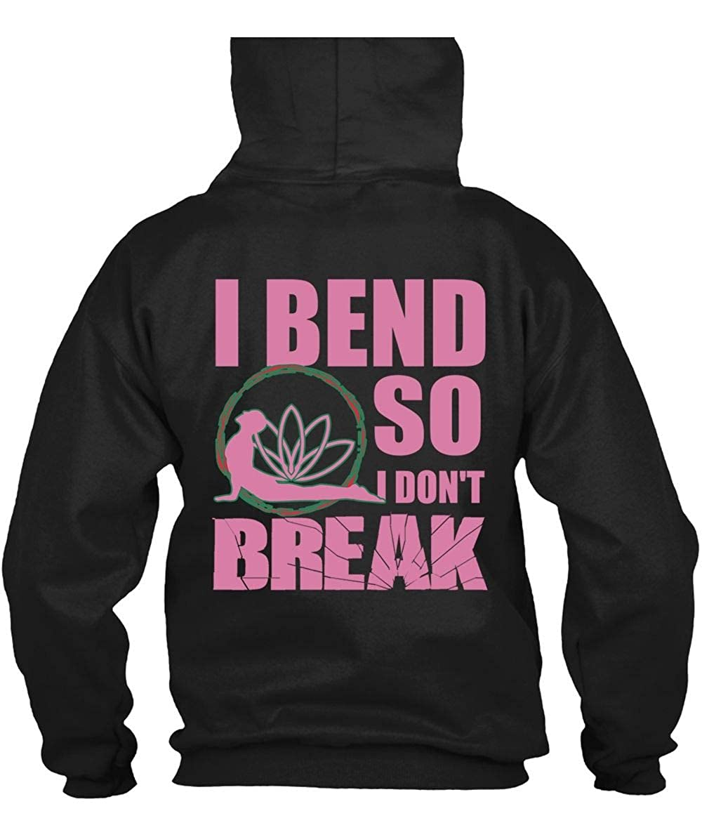 Amazon.com: I Am Yoga Teacher Hoodies, I Bend So I Dont ...