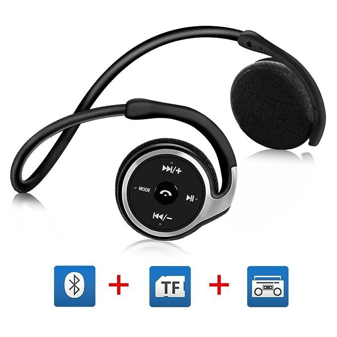 150 opinioni per Cuffie Bluetooth Running per Correre, Auricolari Running Bluetooth on Ear con HD