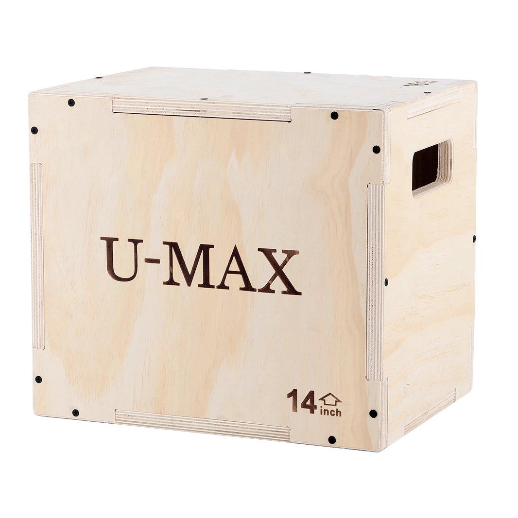 Amazon U Max Wood Plyo Box 3 In 1 For Crossfit Jump Training