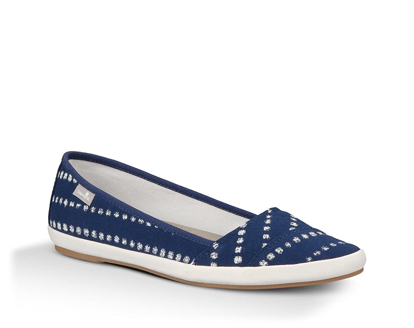 Sanuk Womens Kat Prowl Prints Slip-On Loafer Indigo White Dots 5 B(M) US   Buy Online at Low Prices in India - Amazon.in fc366a6eb