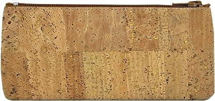 100% natural portugués estuche para lapiceros (corcho, fabricado en Portugal: Amazon.es: Oficina y papelería