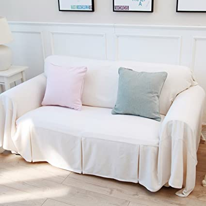 Solid Color Sofa Cover,Sofa Cover Full Cover Sofa Cloth Sofa Covers For 1 2