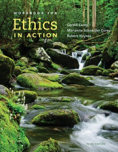 Ethics in Action (with Workbook, DVD and CourseMate Printed Access Card) by Corey, Gerald, Corey, Marianne Schneider, Haynes, Robert (2014) Paperback