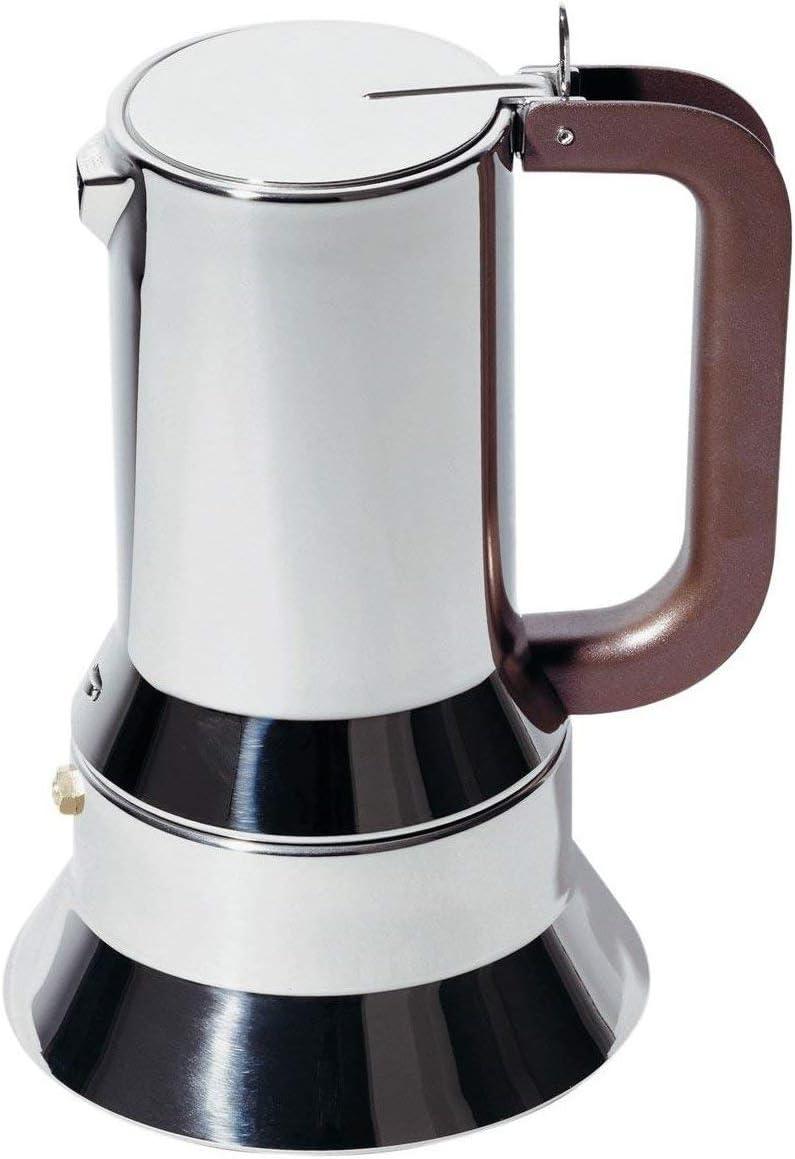 Alessi 9090/M Cafetera de Diseño de Acero Inoxidable, 10 Tazas: Amazon.es: Hogar