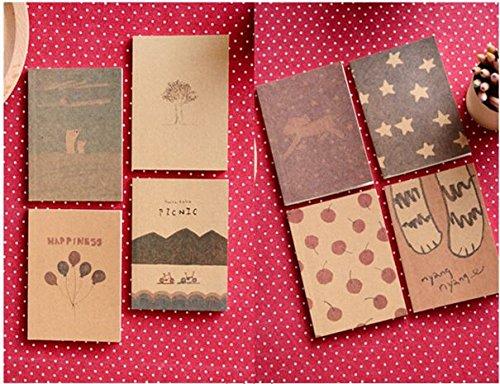 Fantastic Dream Notebook Vintage Crayon Diary Book Portable Agenda stationery Caderno Escolar material School Supplies AC0021