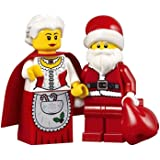 LEGO Holiday Creator Set of 2 Minifigures - Mrs. Claus and Santa with Red Sack (10245)