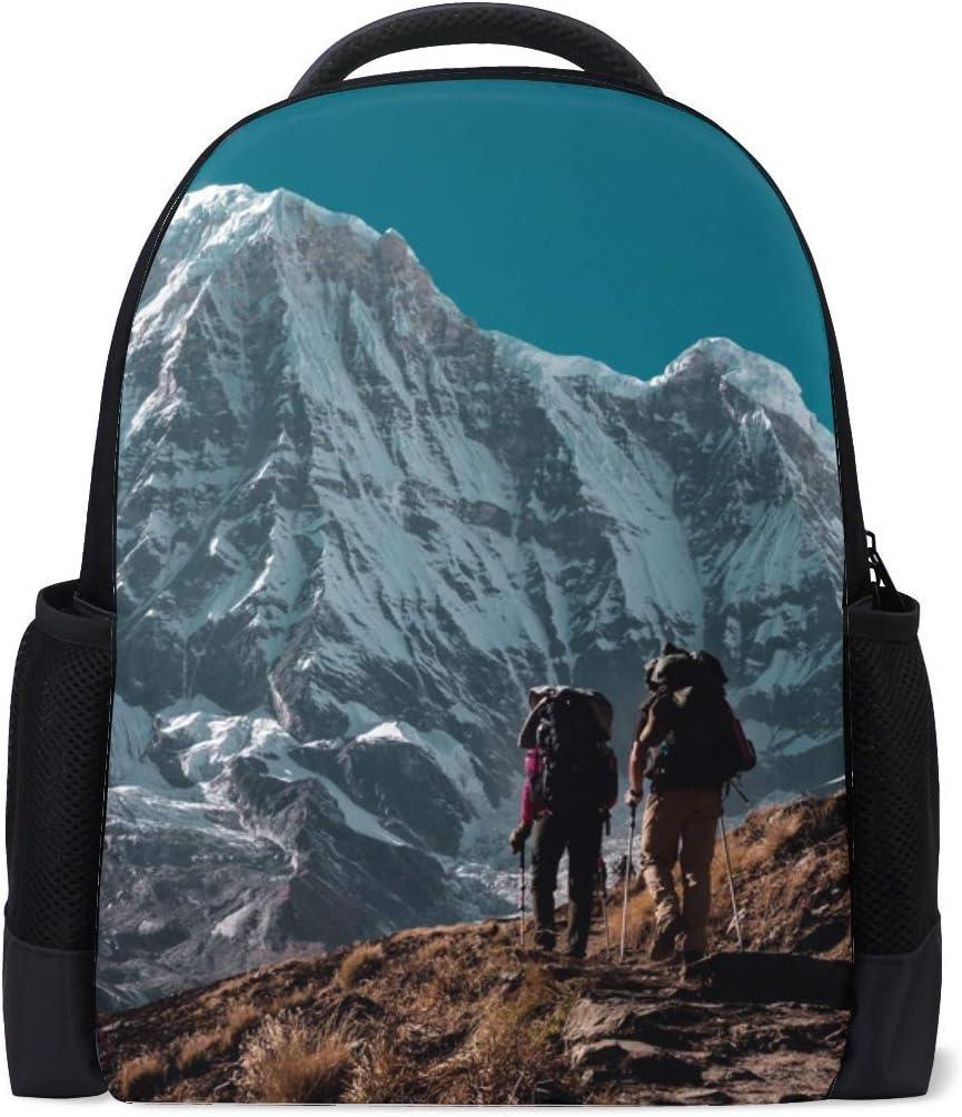 Mountain Peak Tourists Bookbag School Backpack Luggage Travel Sport Bag