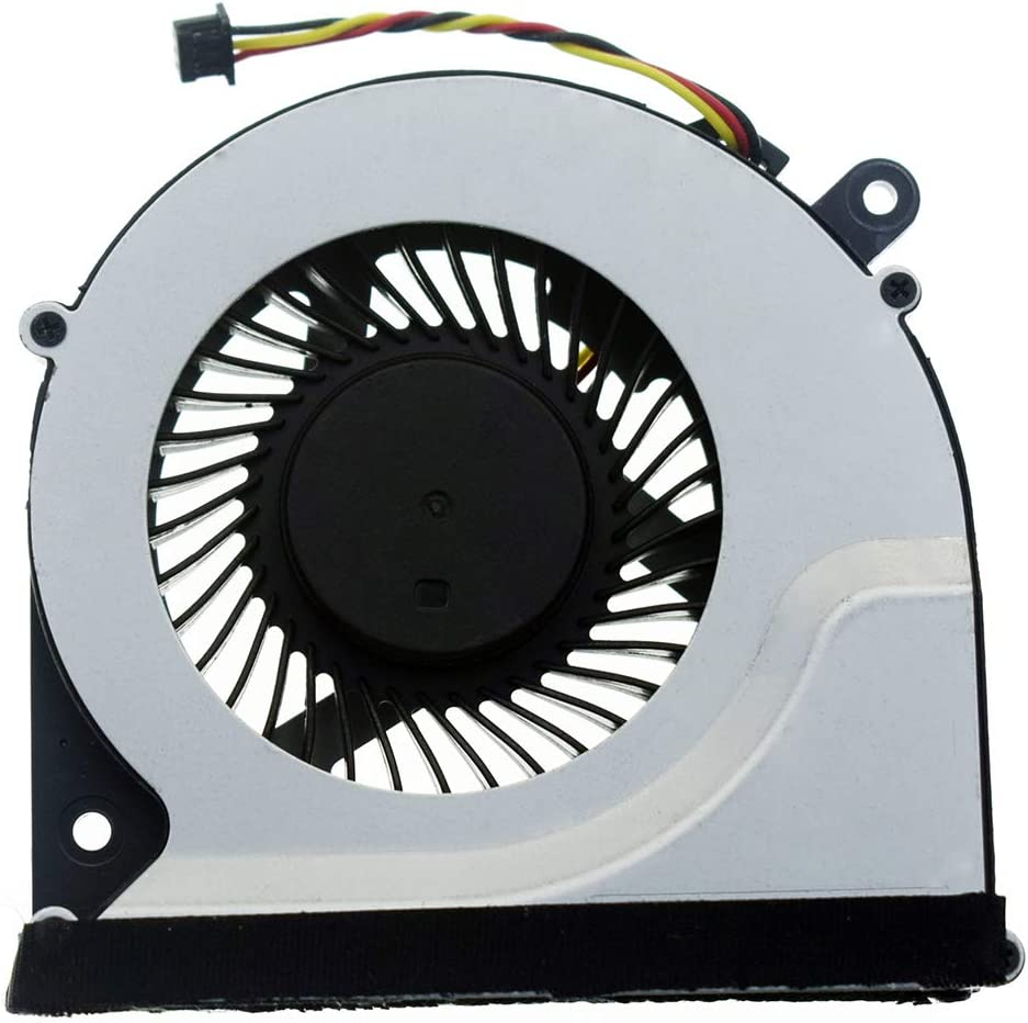 DREZUR 3-Pins CPU Cooling Fan Compatible for Toshiba Satellite C850 C855 C870 C875 L850 L870 L870D L875 L875D Series Laptop Cooler