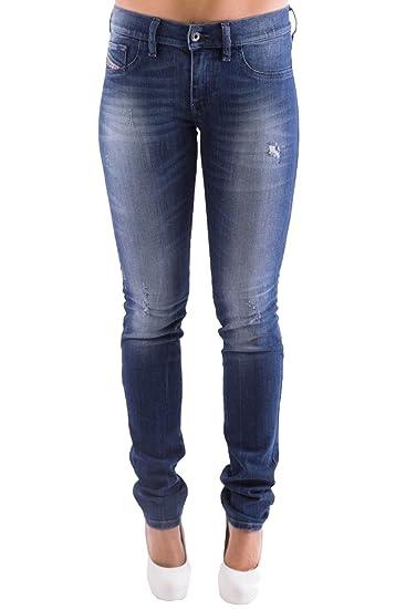 Diesel Skinzee-Low 0R841 Women\u0027s Jeans Trousers Skinny (W32/L30, Blue)