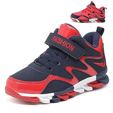 Chicos Zapatos casuales Botas de baloncesto para niños Zapatillas de deporte de absorción de golpes Zapatillas de deporte superiores cálidas Calzado clásico ...