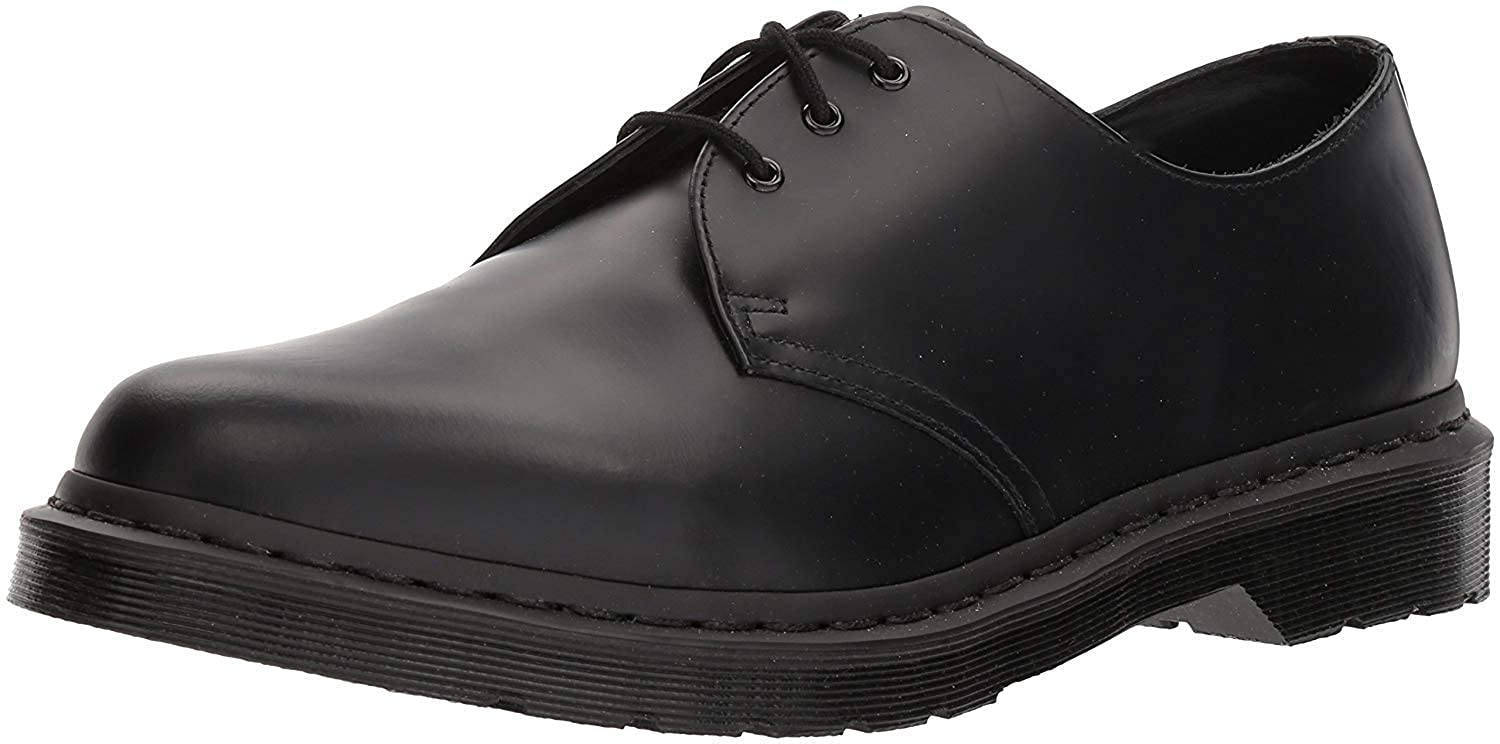 TALLA 9.5 B UK / 11.5 B(M) US. Dr. Martens Monochrome 1461, Oxford Unisex