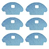 Mopping Pads Replacement Compatible DEEBOT OZMO 601 OZMO 930 Robotic Vacuums (Pack of 6,Not fit for DEEBOT 601)