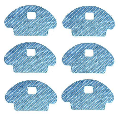 Mopping Pads Replacement Fit for DEEBOT OZMO 601 OZMO 930 Robotic Vacuums (Pack of 6, Not fit for DEEBOT 601)