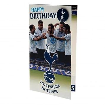 gift ideas official tottenham hotspur fc players birthday card a