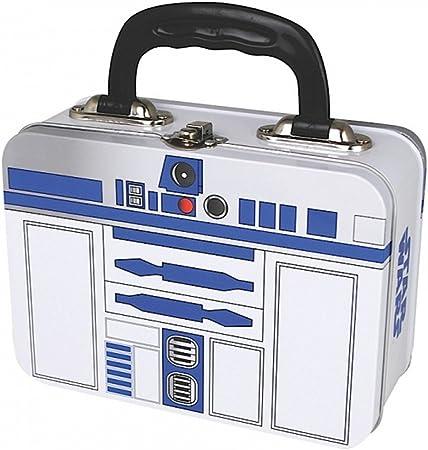 Star Wars - caja metálica fiambrera - R2D2 - de dos páginas de impresión: Amazon.es: Juguetes y juegos