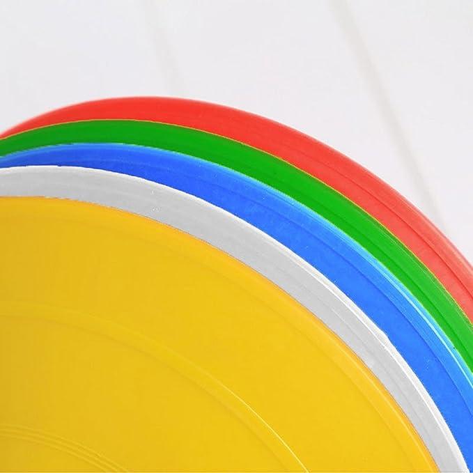 color azul tama/ño 20 cm ukallaite deportes entrenamiento agilidad Disco conos f/útbol f/útbol RUGBY campo marcadores