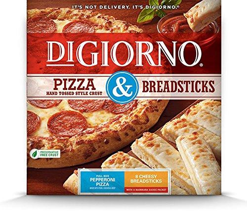 DiGiorno, Pizza & Breadsticks, Pepperoni Pizza & Cheesy Breadsticks, 36.4 oz. (10 count)