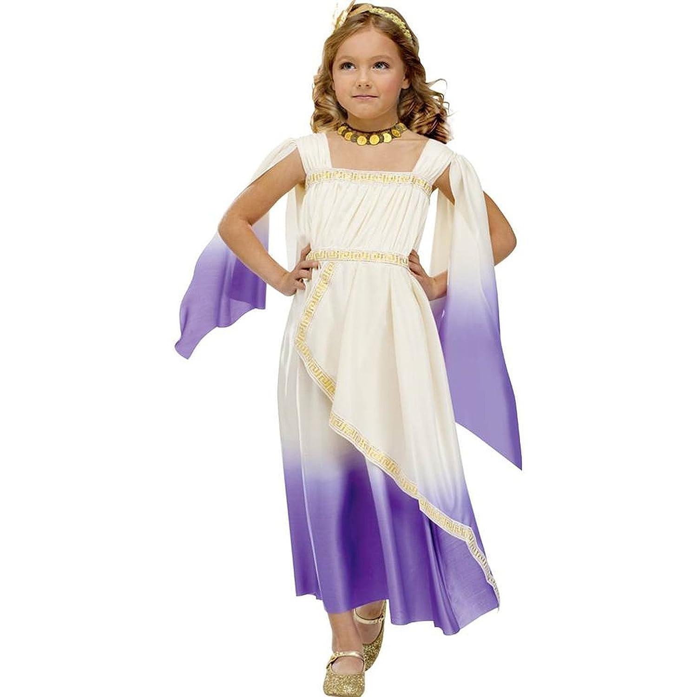 amazon com purple greek goddess kids costume clothing