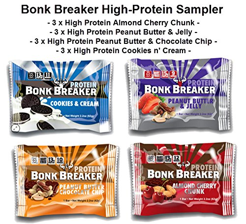 Bonk Breaker High-Protein Sampler // 12 Full-Size Bars
