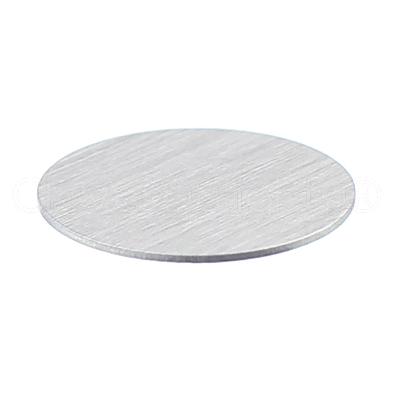 22 Gauge Aluminum 25 Pack Circle Discs Tags CleverDelights 3//4 Round Stamping Blanks .025