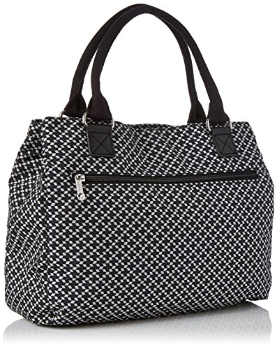 Bag H T Caralisa Women��s Retro Kipling Black Handle Multicolour cm 34x25x11 Geo x x Top B BUIz4q