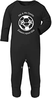 ASTON VILLA/'S BEST DRIBBLER CUTE BABY BODY GROW SUIT VEST GIRL BOY GIFT IDEA