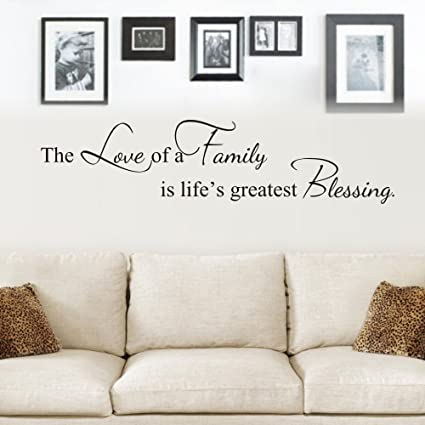 Amazon.com: MoharWall The Love Of A Family Is Life\'s Greatest ...