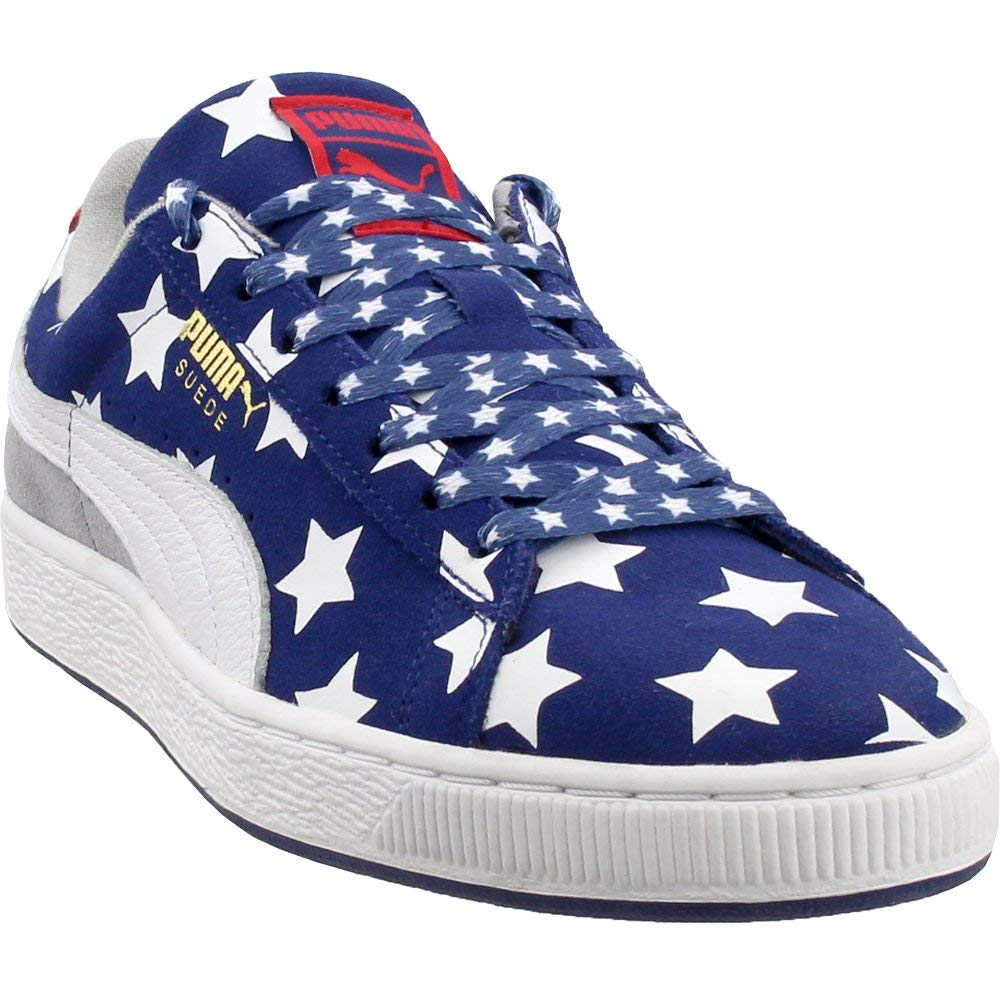 hot sale online e38a8 97a93 PUMA Men's RWB Suede Ankle-High Fashion Sneaker