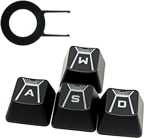 HUYUN FPS - Tapas de teclas retroiluminadas para teclado Logitech G910 Cherry MX (WASD Keys)