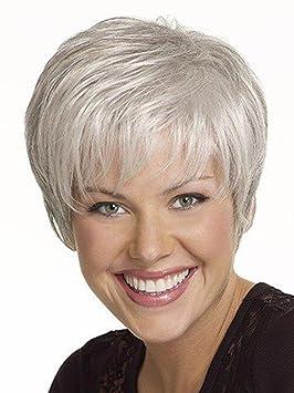 Coupe de cheveux blancs courts femme - Coupes de cheveux et coiffures