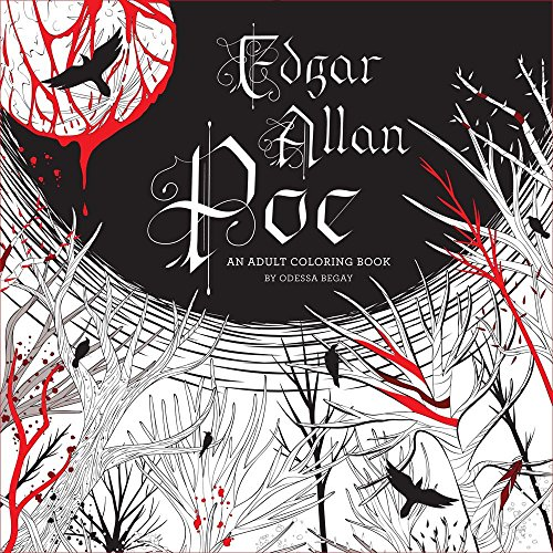 Price comparison product image Edgar Allan Poe: An Adult Coloring Book