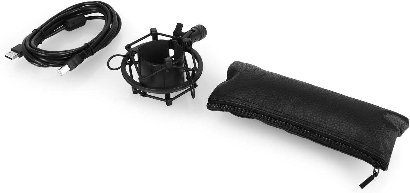 negro Auna MIC-900BG Micr/ófono para ordenador