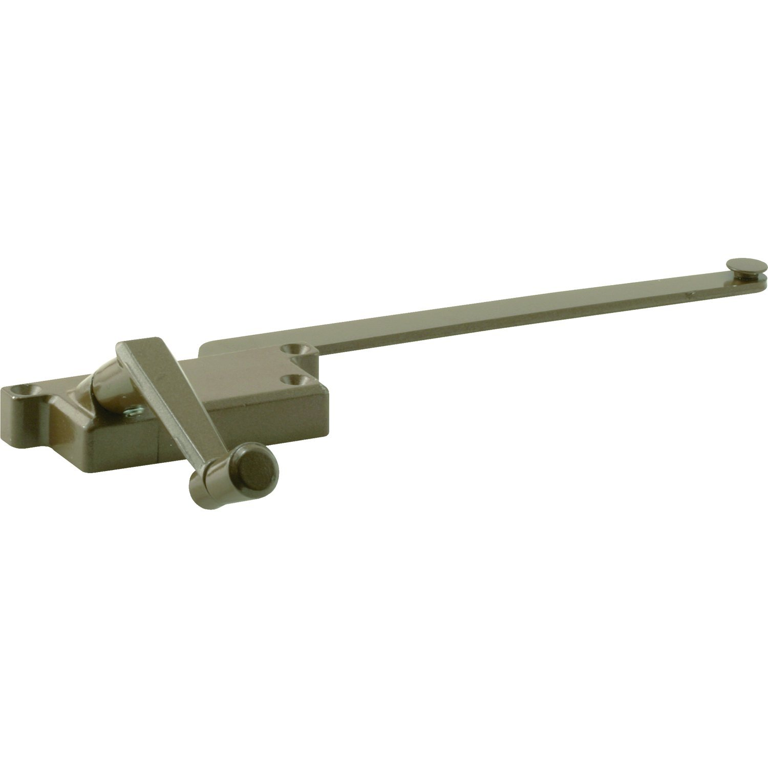 Slide-Co 17570-R Wood Casement Operator, 9 Inch, Diecast Square Housing, Bronze, Right Hand, Pack of 1