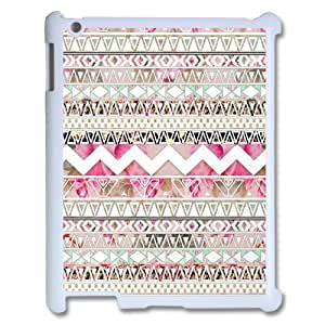 C-EUR Cover Case Aztec Tribal customized Hard Plastic case For IPad 2,3,4 by icecream design