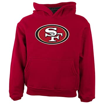 check out ce3d3 12b50 Outerstuff San Francisco 49ers Toddler Primary Gear Red Hooded Sweatshirt