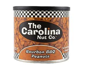 The Carolina Nut Company Peanuts, Bourbon BBQ, 12 Ounce (Bourbon BBQ)