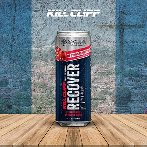 Kill Cliff Pomegranate Punch Recovery & Hydration Drink 16-12 oz Cans 6