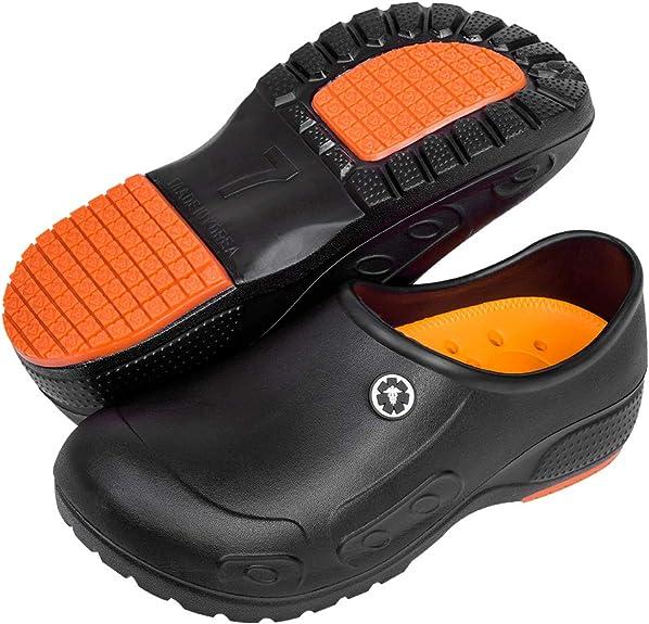 Amazon.com: YUNG Professional Slip Resistant Clogs - Chef Clogs, Restaurant Work Shoe, Nurse Shoe, Garden Work Shoe for Men and Women Unisex Black: Shoes