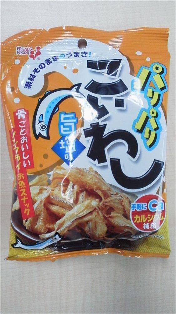 Inoue food Paripariko sardines Muneshio 18gX5 bags