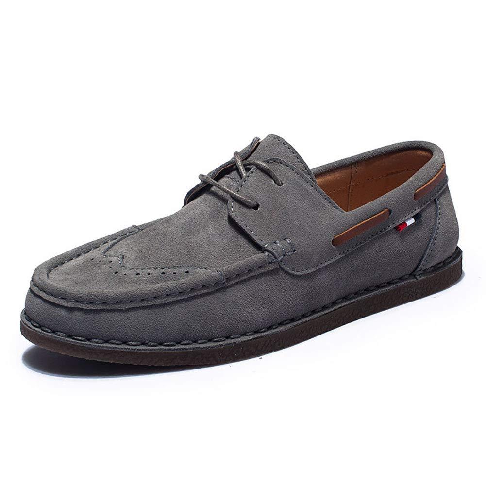 Herrenschuhe Wildleder Frühling Herbst Komfort Loafers & Slip-ONS Für Fahr Schuhe Casual Büro & Karriere Party Large Größe