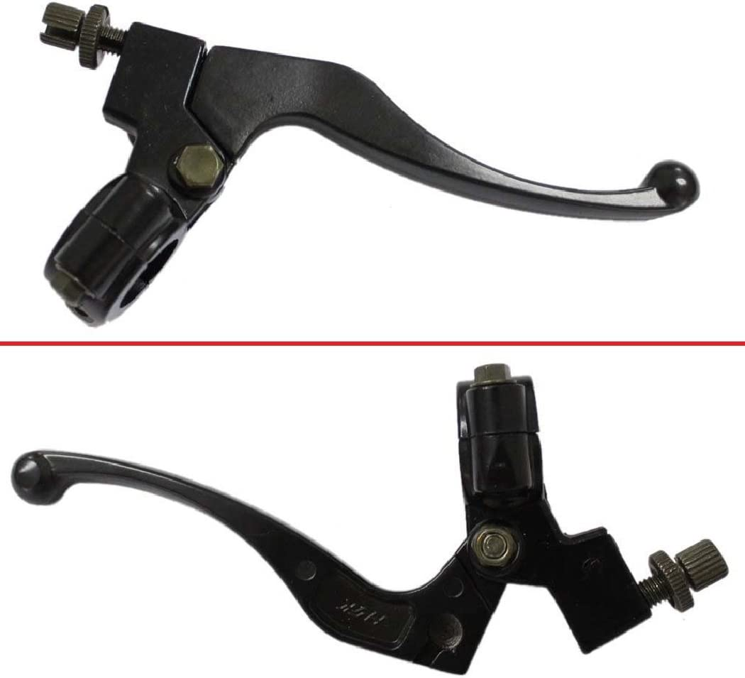 Brake Clutch Lever Bike Brake Cable Throttle Grip w// 37.41 Clutch Cable with Adjuster For 50cc 70cc 90cc 110cc 125cc Dirt Bike