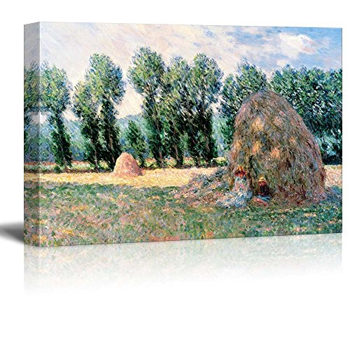 Claude Monet Haystacks Impressionist Art