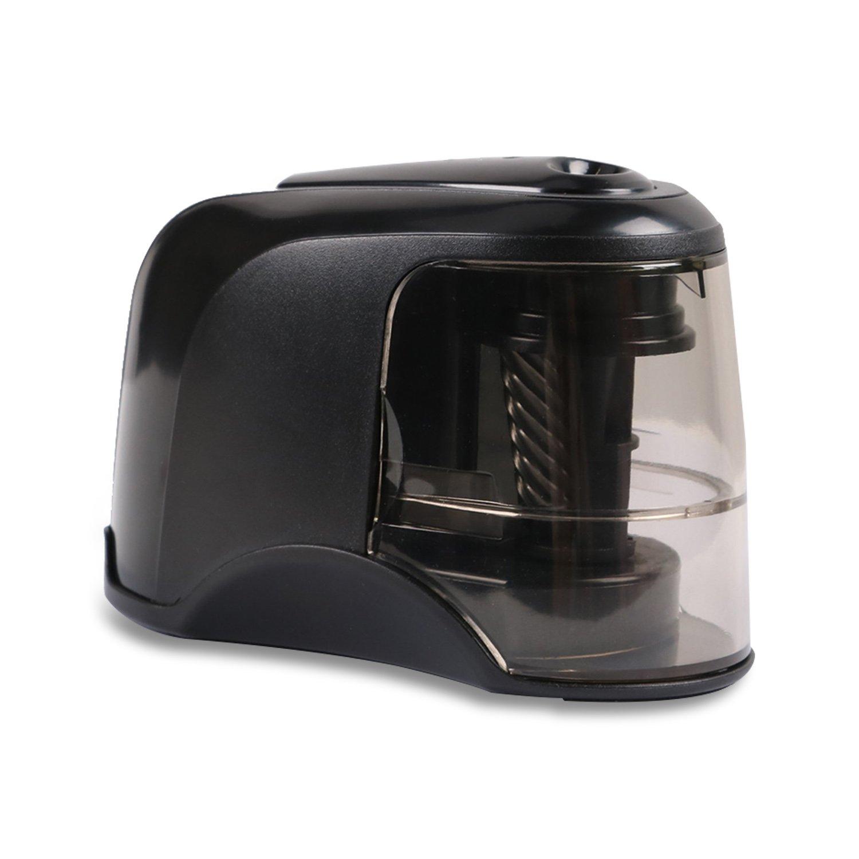 Mtsugar temperamatite con funzione di arresto automatico, elettrico durevole e portatile per 6.5–8mm diametro matite per scuola, casa, studio, ufficio.