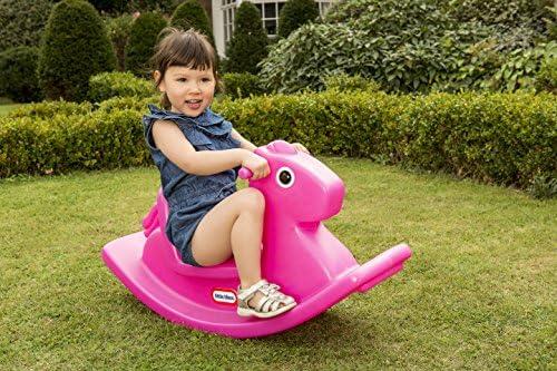 Little Tikes 400G00060 - Cavallo a dondolo, colore: Rosa